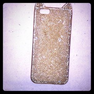 Rhinestone Cat eared 6/6s/7/8 IPhone case